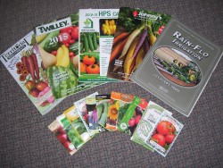 Ordering Seeds and Supplies